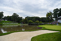 A wide view of the green on 17 during Rd4 of the 2019 BMW Championship, Medinah Golf Club, Chicago, Illinois, USA. 8/18/2019.<br /> Picture Ken Murray / Golffile.ie<br /> <br /> All photo usage must carry mandatory copyright credit (© Golffile | Ken Murray)