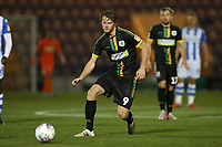 Alex Fisher of Yeovil Town during Colchester United vs Yeovil Town, Sky Bet EFL League 2 Football at the JobServe Community Stadium on 2nd October 2018