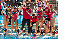 Team Canada <br /> ITA (white cap) -  CAN (blue cap)<br /> Water Polo<br /> Day03  16/07/2017 <br /> XVII FINA World Championships Aquatics<br /> Alfred Hajos Complex Margaret Island  <br /> Budapest Hungary July 15th - 30th 2017 <br /> Photo @ Deepbluemedia/Insidefoto