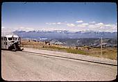 RGS Goose #5 southbound approaching Peak crossing of Highway 62.<br /> RGS  Peak (near), CO  Taken by Maxwell, John W. - 5/31/1946