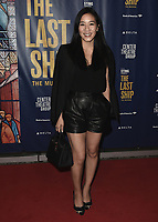 """LOS ANGELES - JANUARY 22:  Michelle Kwan at the opening night of """"The Last Ship"""" on January 22, 2020 at the Ahmanson Theatre in Los Angeles, California. (Photo by Scott Kirkland/PictureGroup)"""