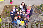 Mrs Dennehy's class from Balloonagh who took part in Scriobh Leabhair met Rose of Tralee Nicola Furlong during the launch of their new Butterfly Garden on Friday afternoon.