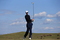 Matthew Fieldsend during Round Two of the West of England Championship 2016, at Royal North Devon Golf Club, Westward Ho!, Devon  23/04/2016. Picture: Golffile | David Lloyd<br /> <br /> All photos usage must carry mandatory copyright credit (&copy; Golffile | David Lloyd)