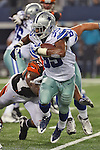 Dallas Cowboys running back Joseph Randle (35) in action during the pre-season game between the Cincinnati Bengals and the Dallas Cowboys at the AT & T stadium in Arlington, Texas. Dallas defeats Cincinnati 24 to 18.