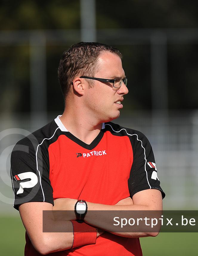 GD INGOOIGEM :<br /> coach Jason Tarras<br /> <br /> Foto VDB / Bart Vandenbroucke