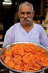 Mcc0028781 . Daily Telegraph..Travel..Freshly fried Jalebis..Mumbai street food..Mumbai January 2011..