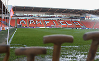 A general view of Bloomfield Road, home of Blackpool<br /> <br /> Photographer Alex Dodd/CameraSport<br /> <br /> The EFL Sky Bet League Two - Blackpool v Stevenage - Tuesday 14th March 2017 - Bloomfield Road - Blackpool<br /> <br /> World Copyright &copy; 2017 CameraSport. All rights reserved. 43 Linden Ave. Countesthorpe. Leicester. England. LE8 5PG - Tel: +44 (0) 116 277 4147 - admin@camerasport.com - www.camerasport.com