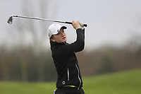 Kate Dwyer (Rossmore) during the second round of the Irish Girls' Open Stroke Play Championship, Roganstown Golf Club, Swords, Ireland. 14/04/2018.<br /> Picture: Golffile | Fran Caffrey<br /> <br /> <br /> All photo usage must carry mandatory copyright credit (&copy; Golffile | Fran Caffrey)