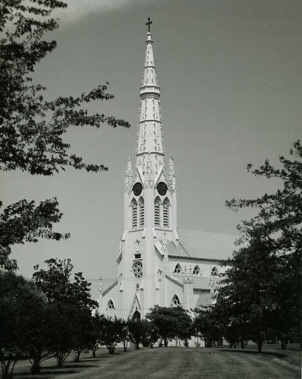 1964 June 11.Historical...St Mary's Catholic Church..HAYCOX - R. V. Fishbeck.NEG# 64-534-6.NRHA# 970-B..