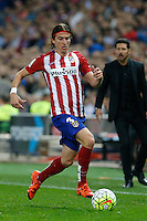 Atletico Madrid´s Brazilian defense Filipe Luis