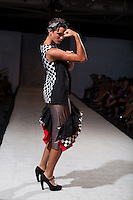 2012 August - The Kaneko Bow Truss was filled with models and spectators for the fall installment of Omaha Fashion Week.