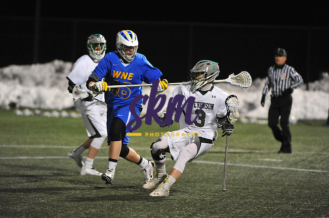 SU men's lacrosse defeated Western New England 14-5 Saturday night at Mustang Stadium in Owings Mills.SU men's lacrosse defeated Western New England 14-5 Saturday night at Mustang Stadium in Owings Mills.