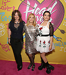 Kathy Valentine, Charlotte Caffey and Jane Wiedlin attends the Opening Night Performance of ''Head Over Heels' at the Hudson Theatre on July 26, 2018 in New York City.