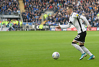 Swansea City's Bersant Celina during the game <br /> <br /> Photographer Ian Cook/CameraSport<br /> <br /> The EFL Sky Bet Championship - Cardiff City v Swansea City - Sunday 12th January 2020 - Cardiff City Stadium - Cardiff<br /> <br /> World Copyright © 2020 CameraSport. All rights reserved. 43 Linden Ave. Countesthorpe. Leicester. England. LE8 5PG - Tel: +44 (0) 116 277 4147 - admin@camerasport.com - www.camerasport.com