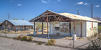 There's not much left of the ghost town of Danby California on Route 66, as it travels through the Mojave Desert.