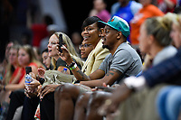 Washington, DC - July 30, 2019: WNBA all-time leading scorer and four-time WNBA champion Tina Thompson sits court side during game between the Phoenix Mercury and the Washington Mystics at the Entertainment & Sports Arena in Washington, DC. The Mystics defeated the Mercury 99-93. (Photo by Phil Peters/Media Images International)