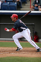 Washington Nationals Kory Casto during a Grapefruit League Spring Training game at Spacecoast Stadium on March 19, 2007 in Melbourne, Florida.  (Mike Janes/Four Seam Images)