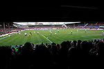 Brentford 0 Doncaster Rovers 1, 27/04/2013. Griffin Park, League One. Griffin Park hosts a showdown between two clubs aiming for automatic promotion from League One. View from the packed away terracing. Photo by Simon Gill.
