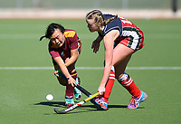 Action from the Federation Cup and Marie Fry Trophy match between St Margarets College and Kings College at Park Island in Napier, New Zealand on Tuesday, 5 September 2016. Photo: Kerry Marshall / lintottphoto.co.nz