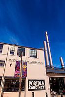 Monterey Bay Aquarium, Cannery Row, Monterey, Monterey County, California USA
