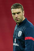19.11.2013 London, England.  England's Rickie LAMBERT before the International football friendly game between England and Germany from Wembley Stadium.
