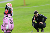 Brittany Lang (USA) on the 7th green during Wednesday's Pro-Am Day of The Evian Championship 2017, the final Major of the ladies season, held at Evian Resort Golf Club, Evian-les-Bains, France. 13th September 2017.<br /> Picture: Eoin Clarke | Golffile<br /> <br /> <br /> All photos usage must carry mandatory copyright credit (&copy; Golffile | Eoin Clarke)