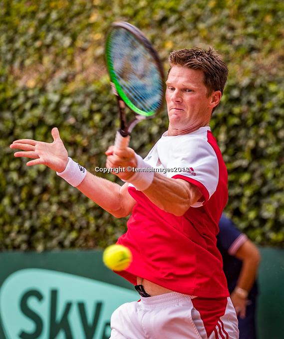 The Hague, Netherlands, 09 June, 2018, Tennis, Play-Offs Competition, Nick van der Meer (NED)<br /> Photo: Henk Koster/tennisimages.com