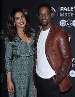 NEW YORK, NY-October 17:Priyanka Chopra, Blair Underwood at PaleyFest New York presents Quantico at the Paley Center for Media in New York.October 17, 2016. Credit:RW/MediaPunch