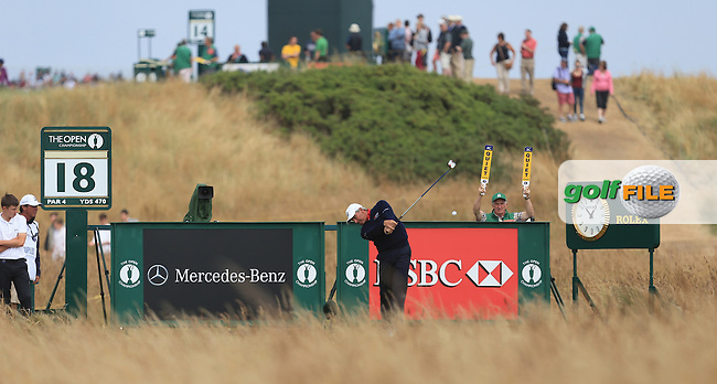 Fred COUPLES (USA) during round 4 of  The 142th Open Championship Muirfield, Gullane, East Lothian, Scotland 21/7/2013<br /> Picture Fran Caffrey www.golffile.ie: