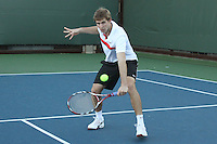 STANFORD, CA - NOVEMBER 16:  Ryan Thacher of the Stanford Cardinal during photo day on November 16, 2009 at the Taube Family Tennis Stadium in Stanford, California.