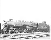 D&amp;RGW #1227 in Denver.<br /> D&amp;RGW  Denver, CO  6/30/1948