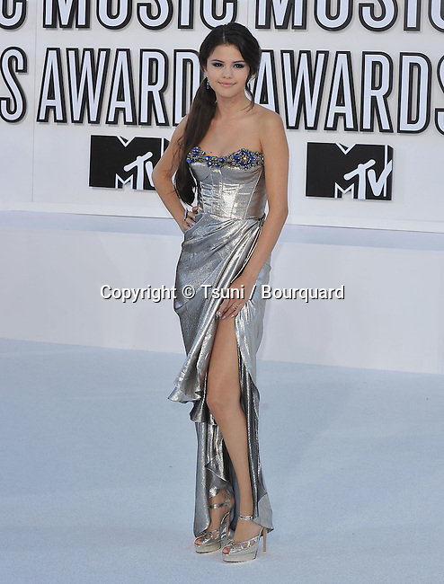Selena Gomez<br /> 2010 Music Video Awards at the Nokia Theatre In Los Angeles.