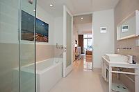Bathroom at 111 Fulton Street