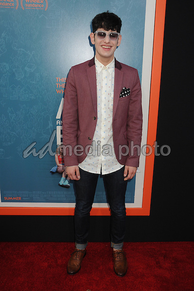 "3 June 2015 - West Hollywood, California - Matt Bennett. ""Me And Earl And The Dying Girl"" Los Angeles Premiere held at the Harmony Gold Theatre. Photo Credit: Byron Purvis/AdMedia"