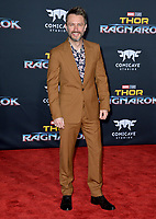 Chris Hardwick at the premiere for &quot;Thor: Ragnarok&quot; at the El Capitan Theatre, Los Angeles, USA 10 October  2017<br /> Picture: Paul Smith/Featureflash/SilverHub 0208 004 5359 sales@silverhubmedia.com