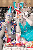 Samantha, NOTEBOOKS, paintings,+couple, party,++++,AUKPC1575,#NB# Humor, lustig, divertido