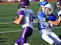 Amador Valley High School Freshman Football at Acalanes Wednesday  Oct. 2, 2019. (Photo by Alan Greth/AGP Sports)