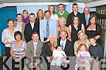 CHRISTENING DAY: Siobha?n Feehan and John Reidy who had their baby daughter Ellie Christened in St John's Church, Tralee on Saturday celebrated afterwards with family and friends in Nancy Myles bar, Ballymullen.