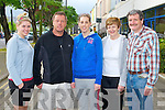 WALK: Taking part in the Kerry Hospice Foundation Good Friday Walk at the Brandon hotel, Tralee on Friday l-r: Rosemarie, Tom and Oonagh Carey, Currans and Joan and Chris Wright, Killarney.