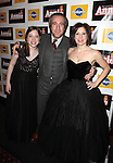 Ian Madover & Arielle Tepper Madover with daughter attending the Broadway Opening Night Performance of 'Annie' at the Palace Theatre in New York City on 11/08/2012