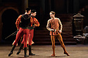London, UK. 12.06.2018. Birmingham Royal Ballet present Sergei Prokofiev's ROMEO AND JULIET, with choreography by Kenneth MacMillan. Lighting design is by John B. Read and set and costume design by Paul Andrews. Picture shows: Right: Lachlan Monaghan (Mercutio). Photograph © Jane Hobson.
