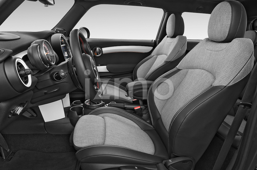 Front seat view of2015 MINI MINI COOPER S 3 Door Hatchback 2WD Front Seat car photos