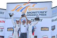 IMSA WeatherTech SportsCar Championship<br /> AMERICA'S TIRE 250<br /> Mazda Raceway Laguna Seca<br /> Monterey, CA USA<br /> Sunday 24 September 2017<br /> 24, BMW, BMW M6, GTLM, John Edwards, Martin Tomczyk, Bobby Rahal<br /> World Copyright: Richard Dole<br /> LAT Images<br /> ref: Digital Image RD_LS_17_303
