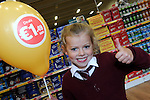 FREE PIC - NO REPRO FEE<br /> 24/09/2015 - Blackpool, Cork<br /> Five-year-old Hollie McGrath from Fairhill, Cork gives thumbs up at the official opening of the new Dealz store at Blackpool Retail Park, Cork.<br /> Pic: Brian Lougheed
