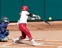 Stanford, California - March 27, 2019: Stanford Baseball defeats St Mary's 8-0 at Boyd & Jill Smith Family Stadium in Stanford, California.
