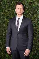 Taron Egerton arriving for the 2018 Charles Finch &amp; CHANEL Pre-Bafta party, Mark's Club Mayfair, London, UK. <br /> 17 February  2018<br /> Picture: Steve Vas/Featureflash/SilverHub 0208 004 5359 sales@silverhubmedia.com