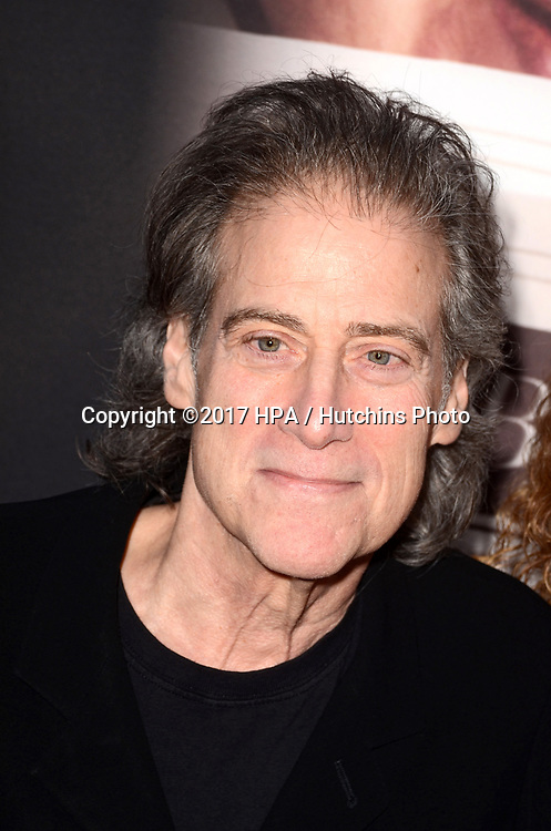 "LOS ANGELES - MAY 17:  Richard Lewis at the ""If You're Not In The Obit, Eat Breakfast"" Premiere at the Samuel Goldwyn Theater on May 17, 2017 in Beverly Hills, CA"