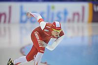 SCHAATSEN: HEERENVEEN: 28-12-2013, IJsstadion Thialf, KNSB Kwalificatie Toernooi (KKT), 500m, Marrit Leenstra, ©foto Martin de Jong