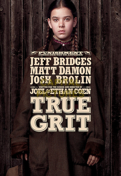 KEY POSTER ART .in True Grit.*Filmstill - Editorial Use Only*.CAP/FB.Supplied by Capital Pictures.