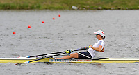 Poznan, POLAND, GBR W1X, Katherine GRAINGER,  training on the Poznan, Malta Rowing Lake venue for the 2009 FISA World Rowing Championships. Saturday  22/08/2009 [Mandatory Credit. Peter Spurrier/Intersport Images]